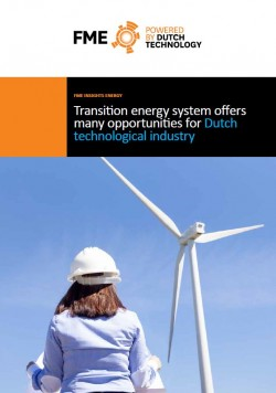 Transition energy system offers  many opportunities for Dutch industry