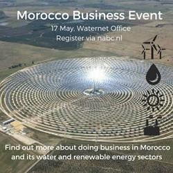 Register Now : MOROCCO BUSINESS EVENT IN THE NETHERLANDS