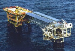 Oil Platform Iron Duke