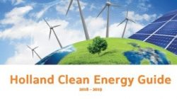 Holland Clean Energy Guide 2018-2019 nu online!