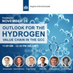 Free Webinar: The lastest developments in the emerging hydrogen value chain in the Gulf Region